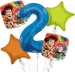 Toy Story Number Balloon Bouquet 5pc.