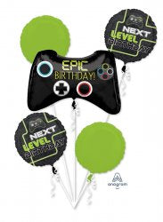 Video Game Controller 5pc bouquet