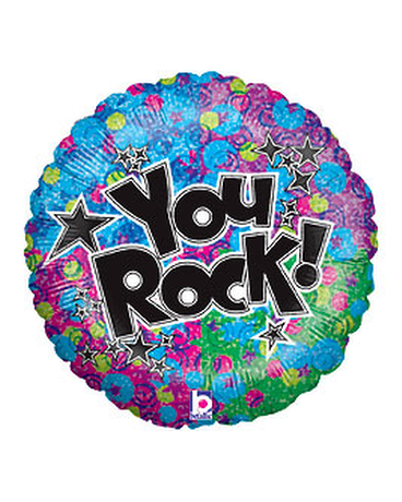 You Rock Balloon 18''