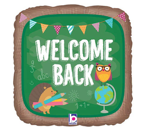 Welcome Back To School Balloon 18''