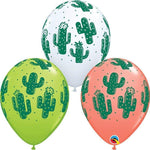 "Western Cactus 11"" Latex Single Balloons"
