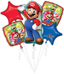Mario Bros Balloon Bouquet