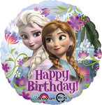 Birthday Frozen Anna & Elsa Balloon