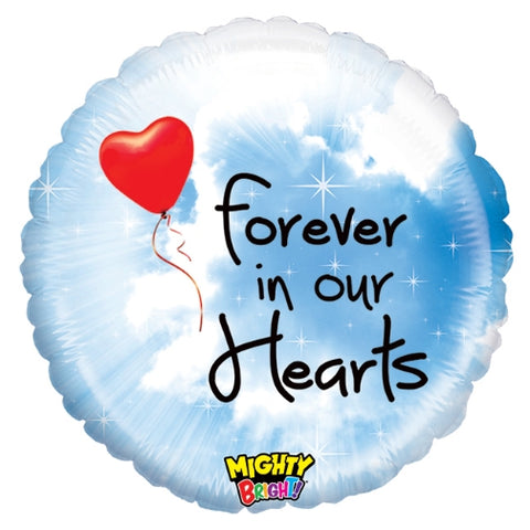 "Forever In Our Hearts 23"" Balloon"