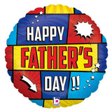 Fathers Day Wow Balloon 18''