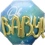 Blue Baby Boy 30'' Multi-Balloon