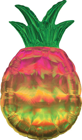 Holographic Pineapple Balloon Supershape