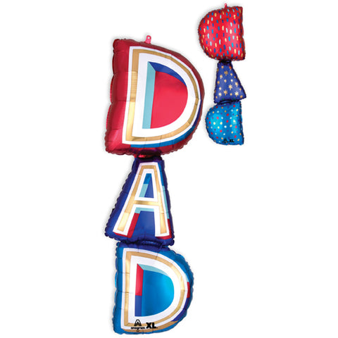 Father's Day D A D Balloon