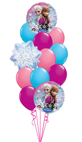 Frozen Large Latex Bouquet 12pc.W/ Weight