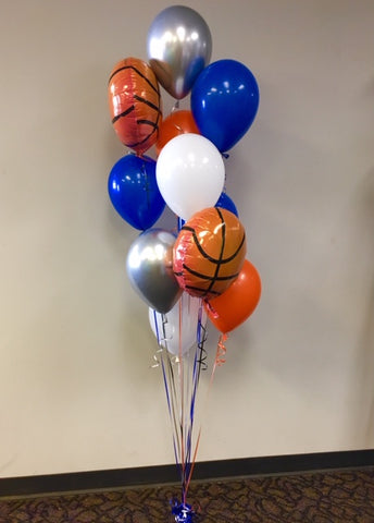 Fun Basketball bouquet w/ weight