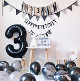 Black 34'' Number Balloon