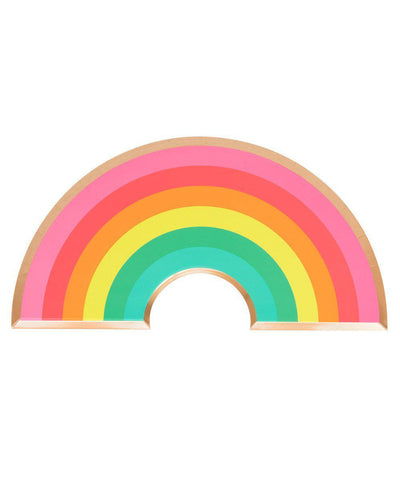 RAINBOW Oh Happy Day PLATES