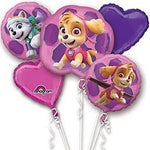 PAW Patrol Everest Balloon Bouquet 5pc
