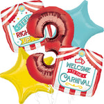Carnival Ultimate Balloon Bouquet 5pc.