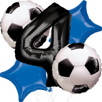 Goal Getter Balloon Bouquet 5pc