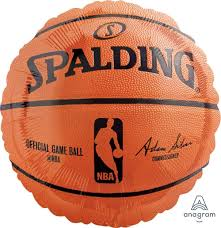Spalding Basket Ball Balloon