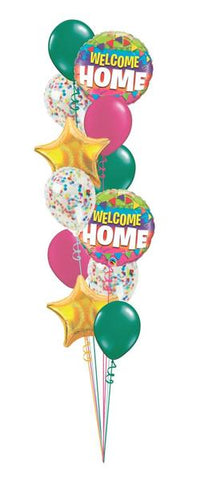 Welcome Home Grand Balloon Bouquet Set