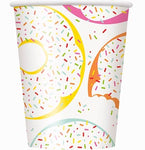 Donut Party Cups, 8ct