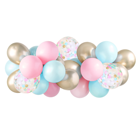 Balloon Garland DIY - Gender Reveal - 5ft