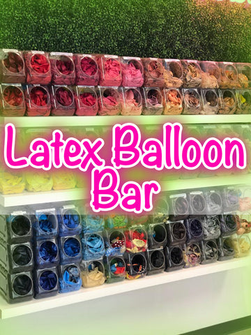 Balloon Bar Solid Color Latex