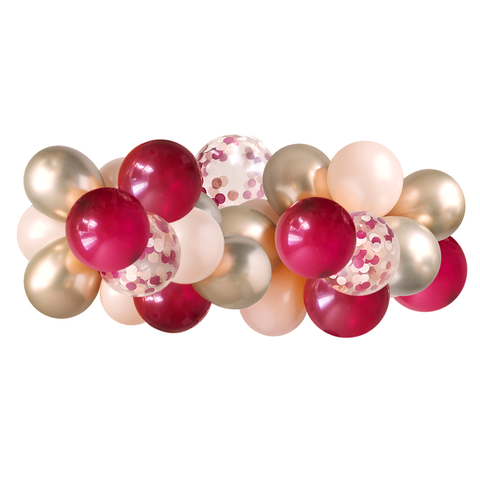 Balloon Garland - Burgundy - 5ft