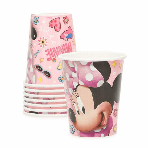 Minnie Mouse Party Cups, 8ct
