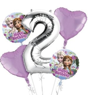 Frozen Balloon Bouquet 5pc.