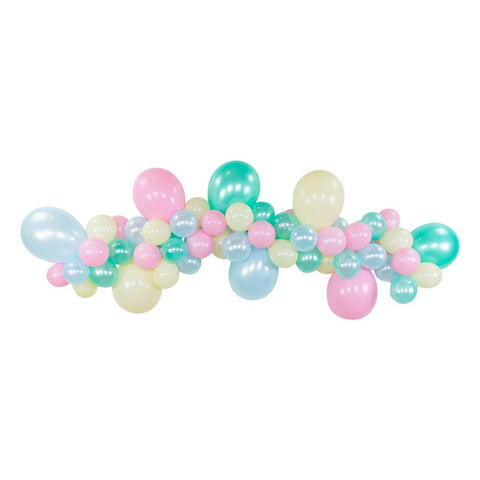 ICE CREAM BALLOON GARLAND KIT - 6FT.