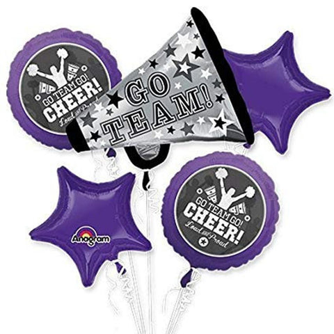 Cheer Dance Balloon Bouquet 5pc.