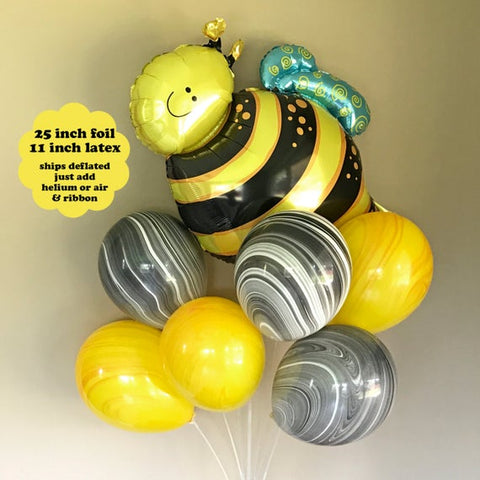 Happy Flying Bee Bouquet Set 7pc