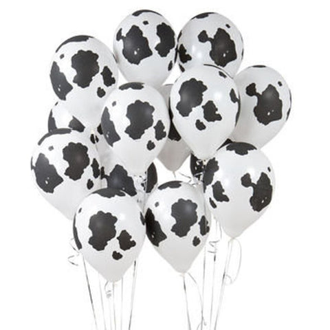 Cow Print Latex By Dozen