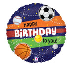 "Sport Holographic Birthday 18"" Balloon"