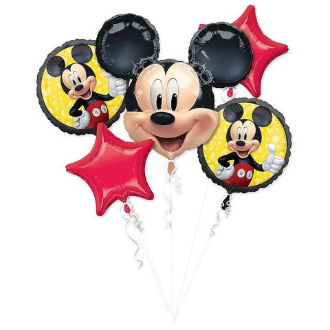 Mickey Mouse Balloon Bouquet 5pc