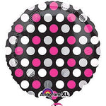 Polka Dotted Pink Mylar