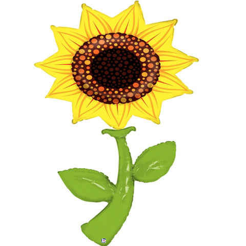 "Sunflower floral 60"" Balloon"