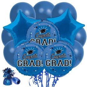 Blue Party Grad Package 14pc