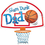 Foil Slam Dunk Dad Balloon 35""
