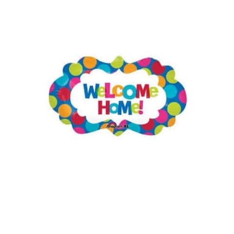 "Welcome Home – Shape – Foil Mylar 27"" Balloon"