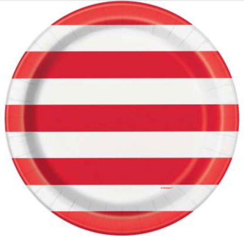 "Star & Stripes 9"" Dinner Plate 8ct."