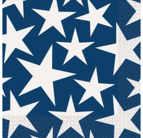 Stars & Stripes Lunch Napkins 16ct.