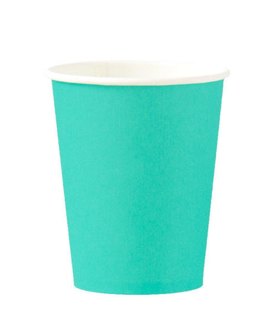 Teal 8oz Cups Set