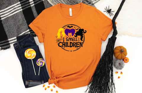 Hocus Pocus Regular Orange Shirt