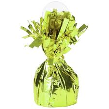 Lime Green Balloon Weight