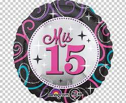 Birthday Quinceañera Balloon Sweet Sixteen Party