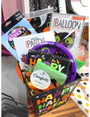 Halloween Cat Party Box 11pc