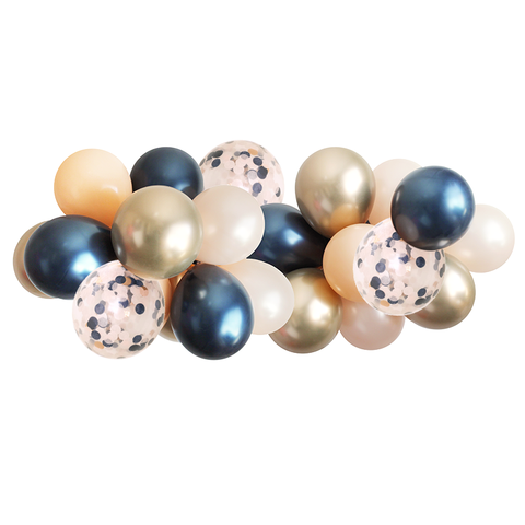Balloon Garland - Navy - 5ft