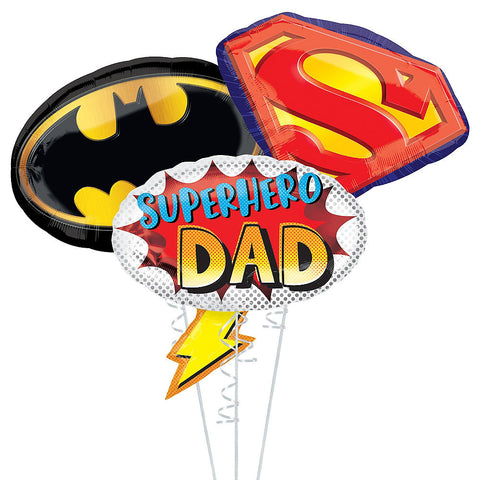 Super Dad Father's Day Balloon Bouquet, 3pc