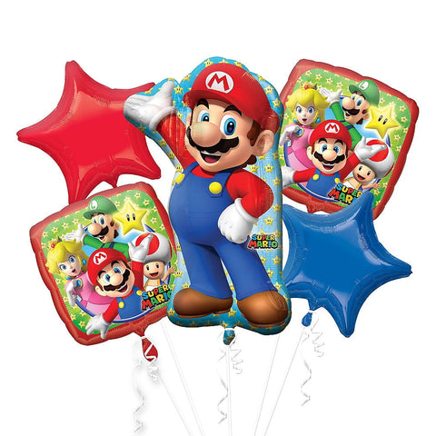 Mario Brothers Bouquet 5pc