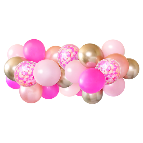 Balloon Garland - Pink Party - 5ft