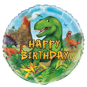 Dinosaur Land Birthday 18''